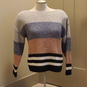 Lucky Brand colourblock sweater. Size medium